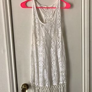 Lace Francesca's Boutique Fringe Dress